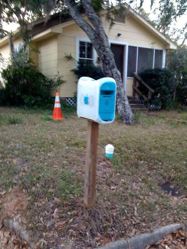 Caption Contest: Mailbox G3 Won't Get Your Mail Any Faster