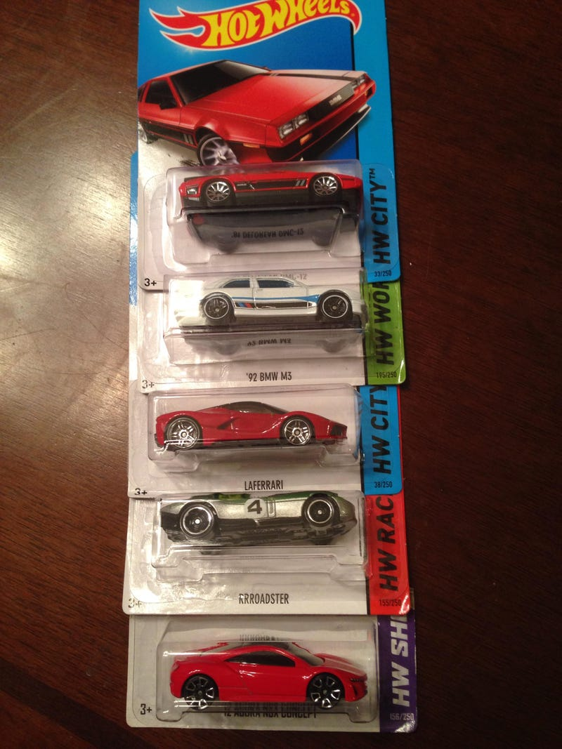 Pretty Successful K-Mart Hot Wheels Trip