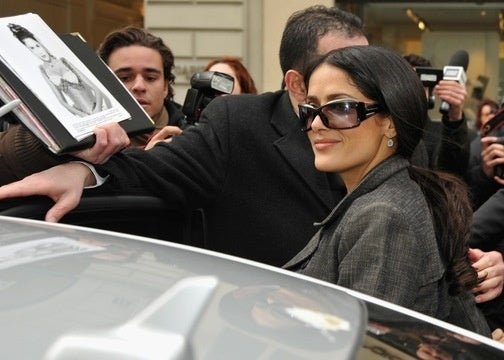 Salma Hayek's Hacked Emails Reveal Celebrity's Quotidian Existence
