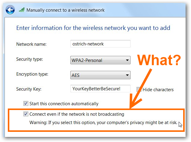 Is Hiding Your Wireless SSID Really More Secure?