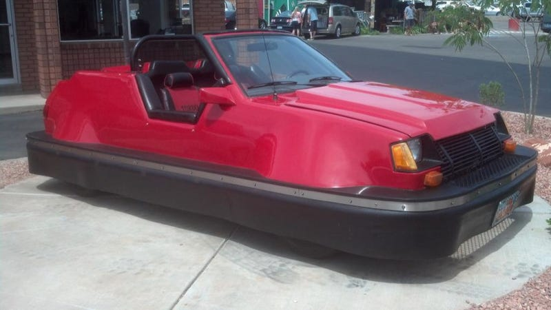 Someone Made A Bumper Car Out Of A Dodge Colt And It's Amazing