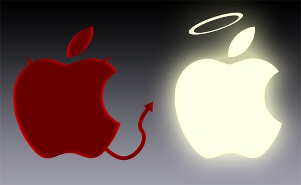 Photoshop Contest: Is Steve Jobs Good or Evil?