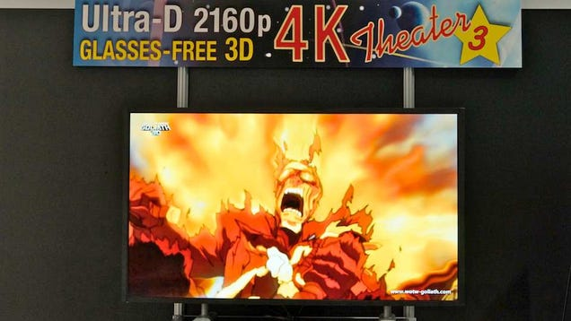 Stream TV Glasses-Free 3D 4K Hands-On: OMG This Works! But...