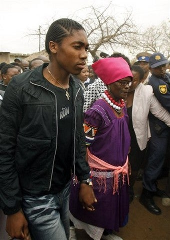 Gender-Test Trauma Affects Semenya's Schoolwork