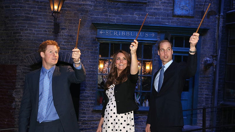 Riddikulus! Harry, Kate and William Cast a Spell