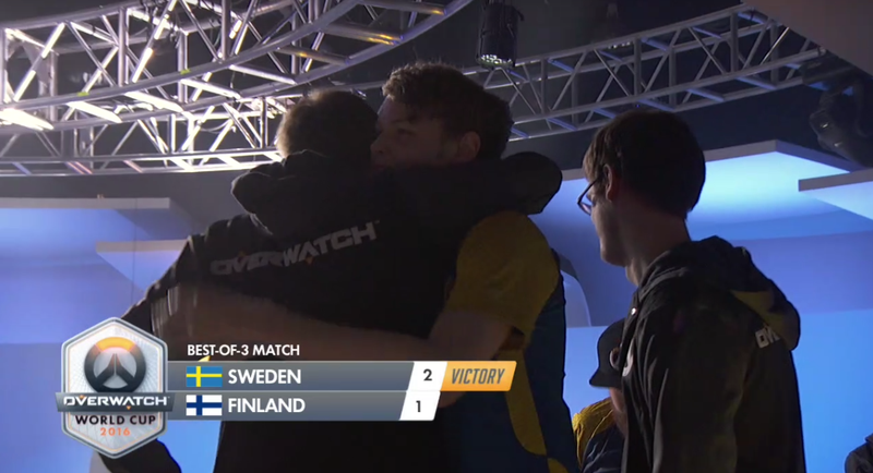 Boss Reaper Plays Help Sweden Take Bronze At Overwatch World Cup