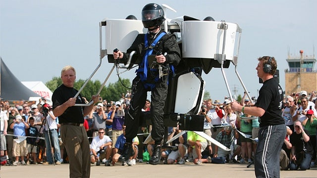 If You Don't Want a Personal Jet Pack Then You're Dumb