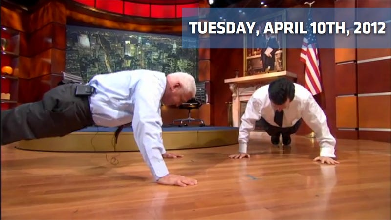 2013 Stage 3 Roush Mustang, Bob Lutz Out-Push-Ups Stephen Colbert, And A New Nissan 240SX