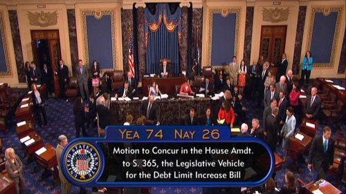 Senate Passes Debt Ceiling Deal
