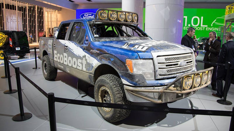 This is how Ford disguised a 2015 F-150 for the Baja 1000