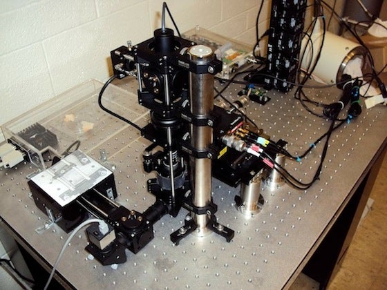Machines that let you observe and manipulate a single biological molecule