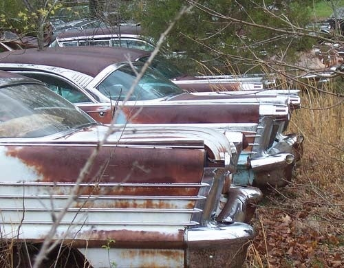Detroit Treasures Down On The Michigan Junkyard