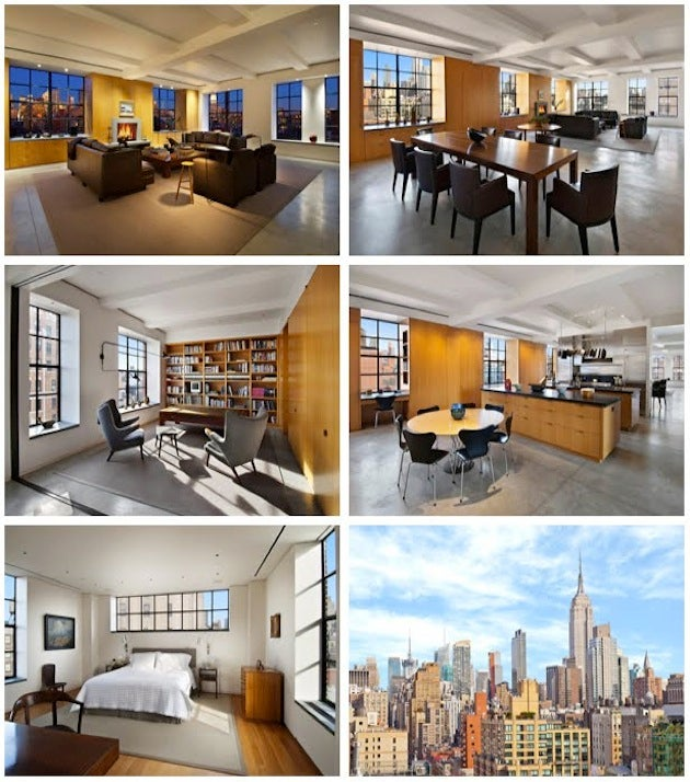 Harrison Ford's $16M Chelsea Penthouse