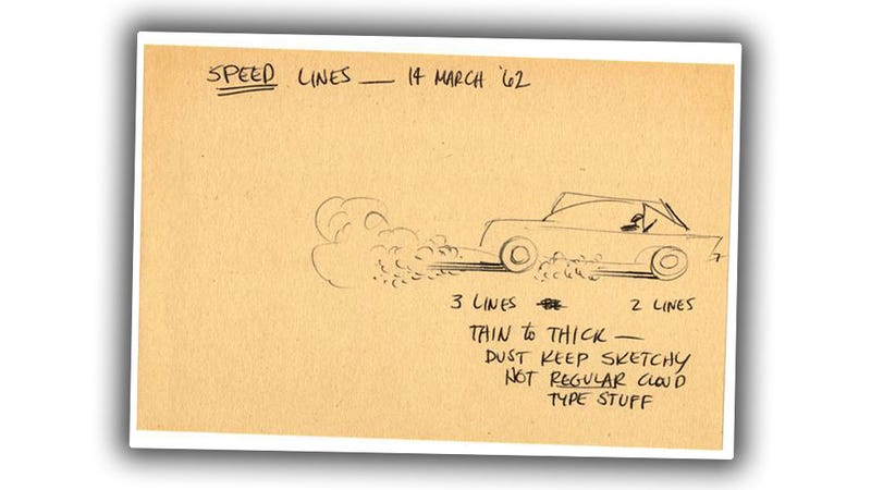 Have Some Interesting Car-Drawing Tips From A Guy Who Drew Dick Tracy