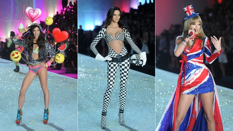 The 10 Most WTF Outfits from Tonight's Victoria Secret's Fashion Show