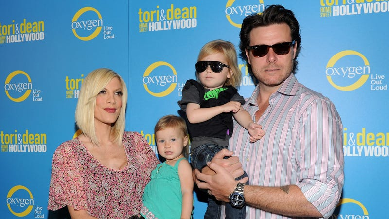 Tori Spelling Is in the Hospital Following Childbirth Complications