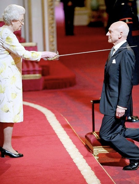 Sir Patrick Stewart? The Queen made it so