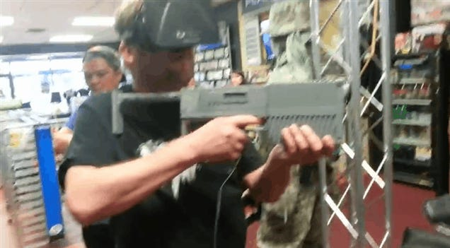 One Way To Solve The Oculus Rift's Gun Problem