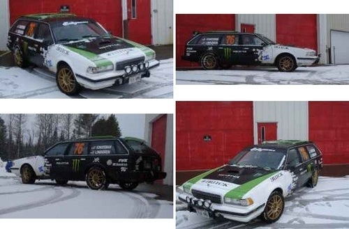 Ken Block Rallied In A Buick Century Wagon?