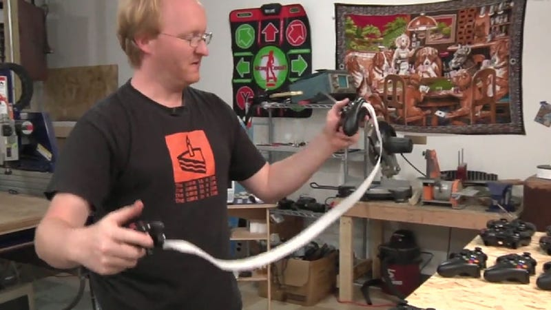 Watch a Master Modder Split an Xbox 360 Controller in Two