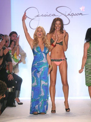 Jessica Simpson Swimwear: For The Collagen-Lipped, Big-Breasted Woman In All Of Us!