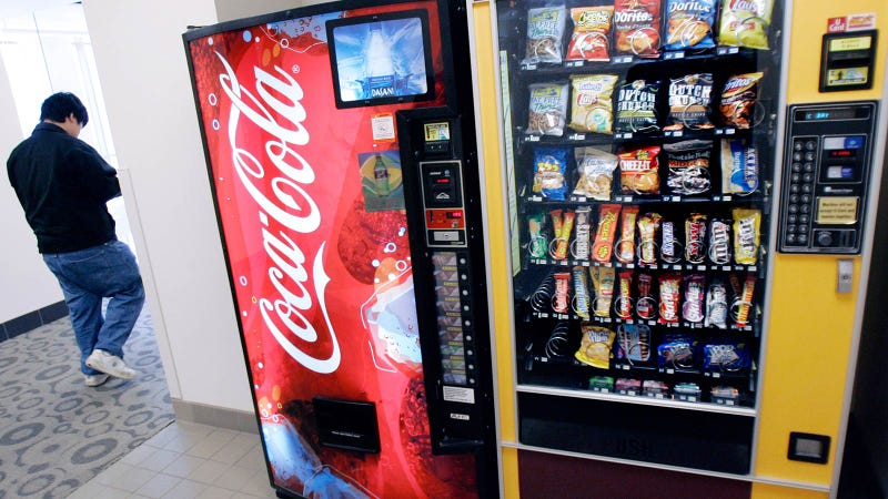 Would Calorie Counts on Vending Machines Stop You from Eating and Drinking Junk?