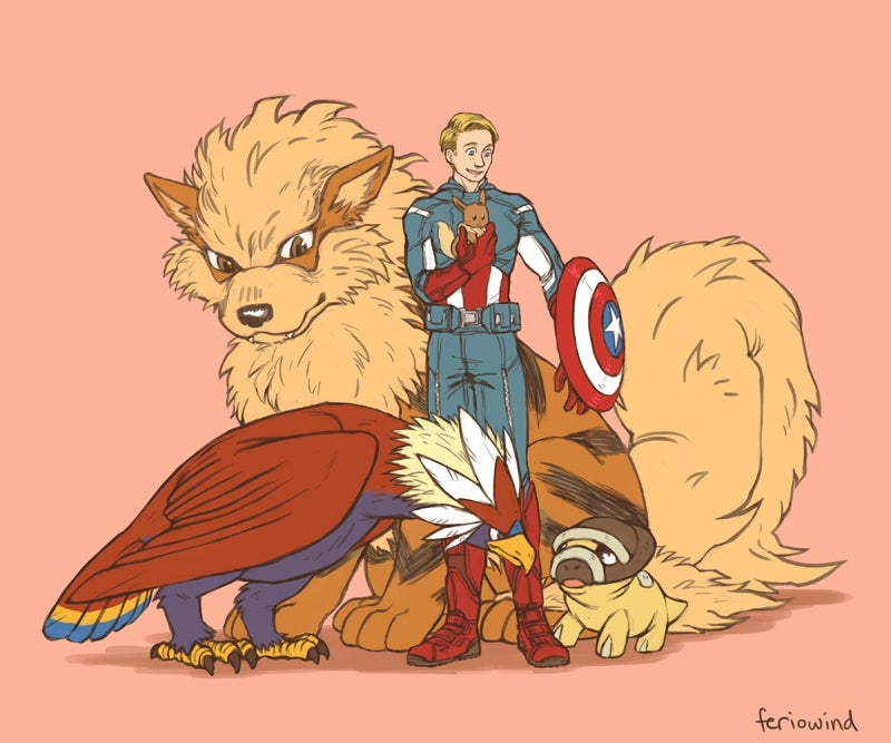 Sure, Put Pokémon and The Avengers Together, Nobody is Stopping You