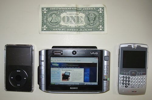 Sony UX-180p Unboxing