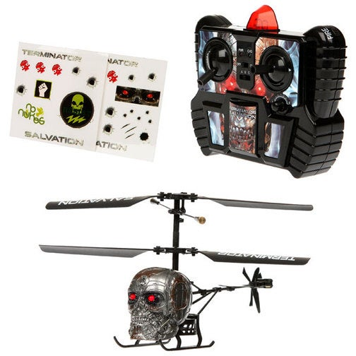 Bladez Corners The Market For Flying, Disembodied Terminator Helicopter Heads