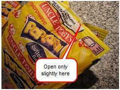How To De-Kernelize Microwave Popcorn
