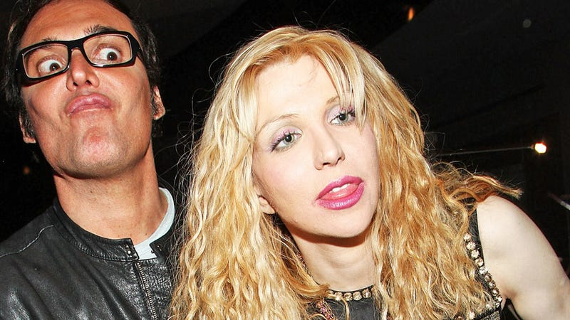 Courtney Love Stole This Man's Car