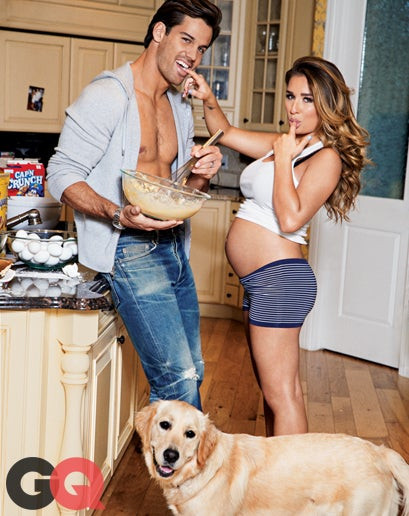 GQ's Ridiculous Sexy-Preggo Shoot With Eric Decker and Jessie James