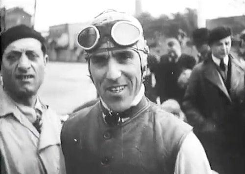 Watch Tazio Nuvolari Swing His Racing Alfa Romeo Through France in 1935