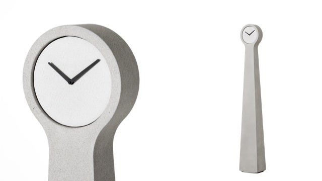 Daily Desired: The Concrete Clock That Is Taller than the Average American