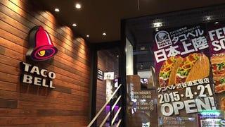 Fancy Taco Bell Just Opened in Tokyo