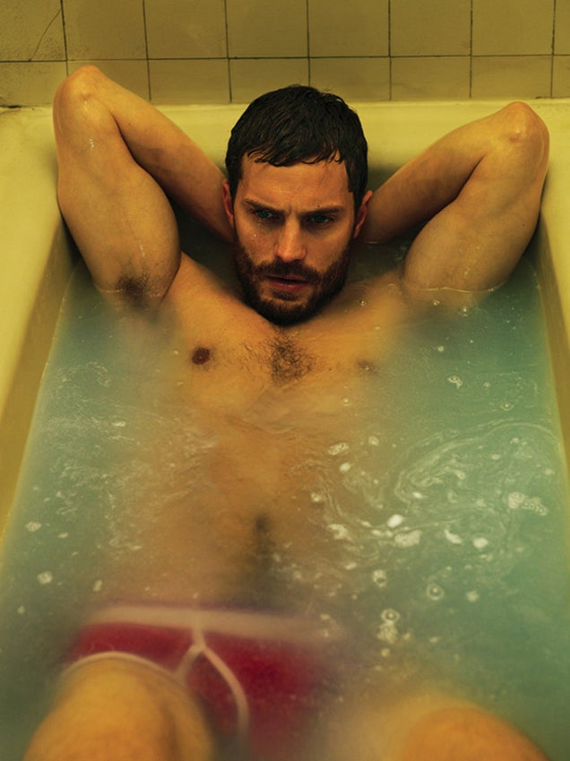 Jamie Dornan Bathing in His Underwear Is Fifty Shades of Hot