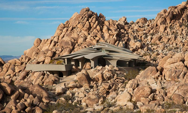 Why wait? Your science fiction home from the future is finally for sale