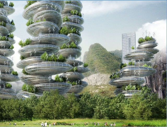 What Would a Futuristic Low-Carbon Tech World Actually Look Like?