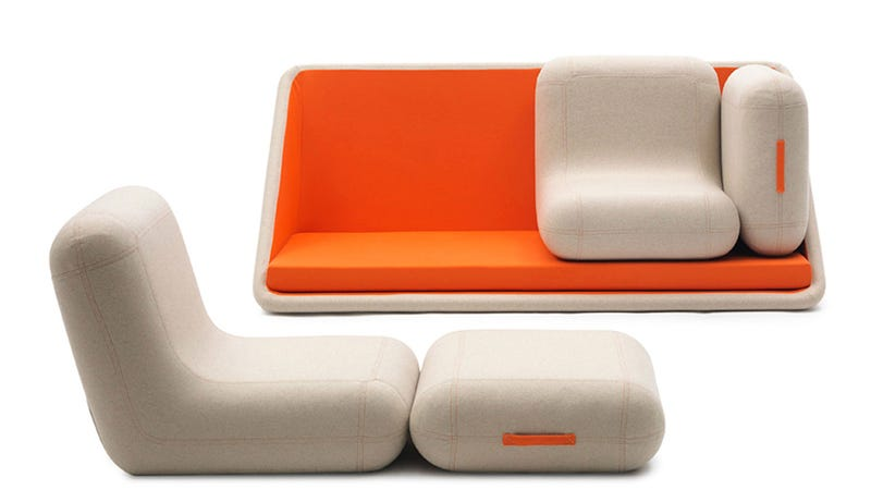 The Perfect Sofa For When You Don't Want To Snuggle