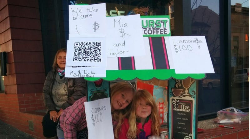 Bitcoin Zealot Mom Made Daughters Sell Cookies for Digital Currency