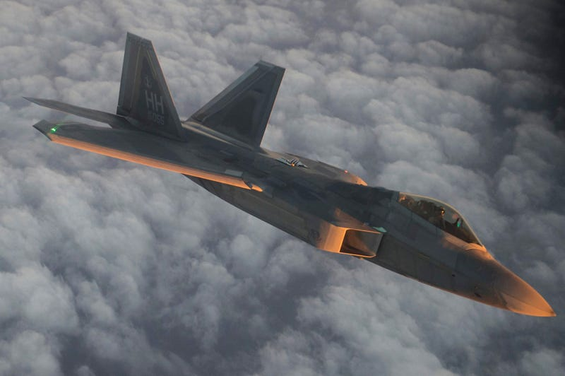 Look At These Gorgeous Shots Of Raptors Getting Refueled Over The Middle East At Dawn