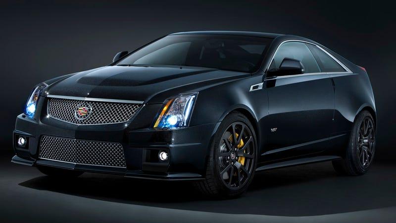 Cadillac joins blaxploitation trend with Black Diamond CTS-V