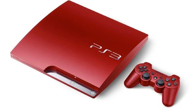 That Sleek Red PlayStation 3 Is Finally Leaving Japan