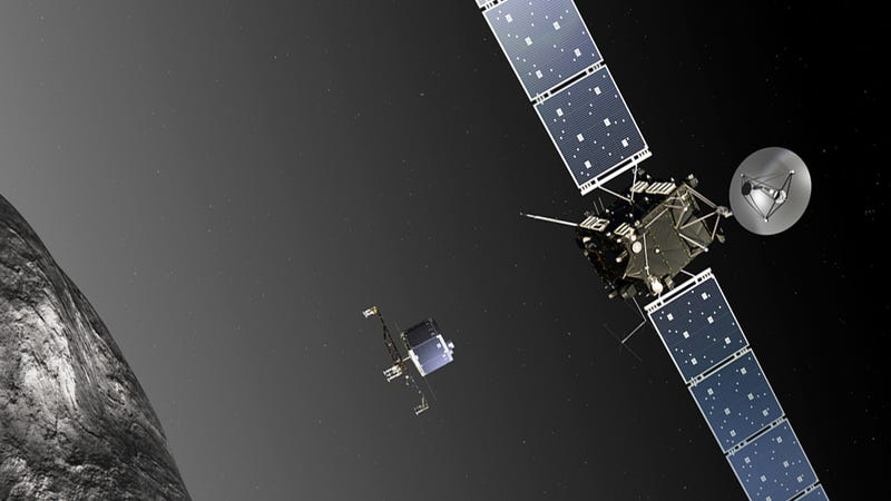 Spaceship wakes up after 31-months to intercept comet and land on it