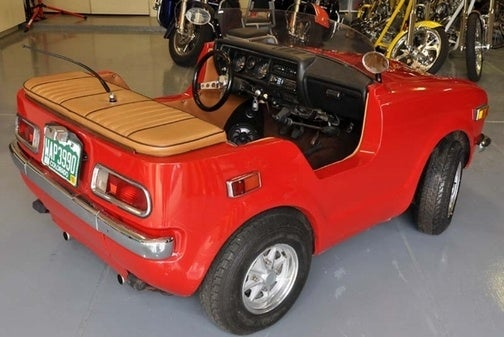 1972 Custom Honda Roadster for $16,500!