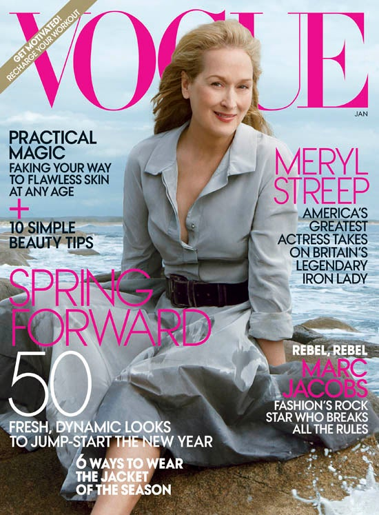 Decrepit Meryl Streep Is The Oldest Woman To Ever Grace The Cover Of Vogue
