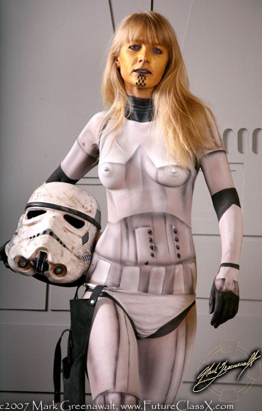 Bodypaint Gallery (NSFW)