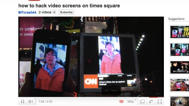 The Times Square Screen Hijacking Clip Was Just the Product of a New Viral Video Factory