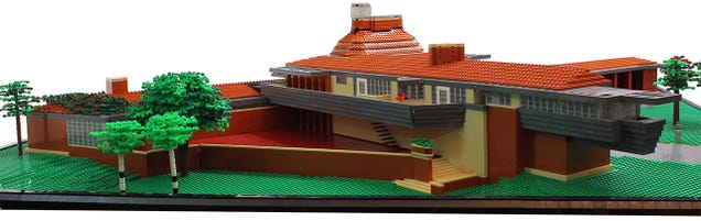 Another Frank Lloyd Wright masterpiece gets the Lego treatment