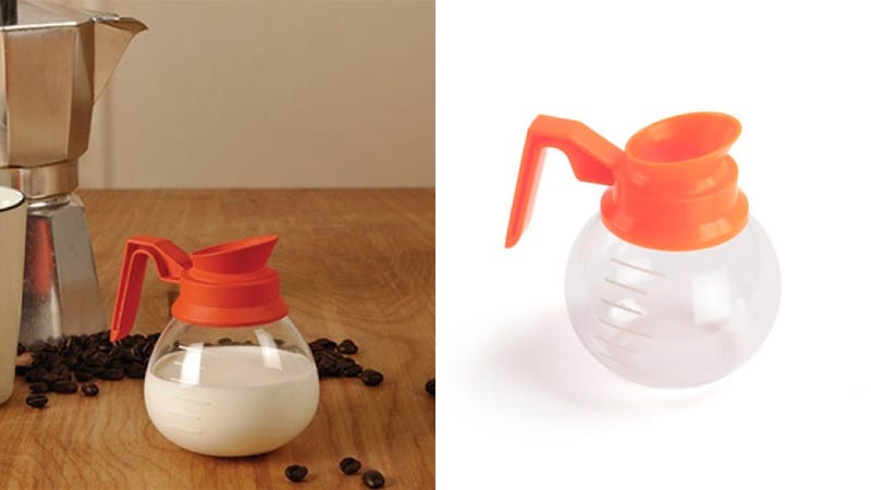 A Doll-Sized Diner Carafe Creams Your Full-Sized Coffee
